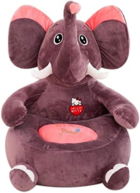 dzzdd Bean Bag Chairs for Kids Elephant Bean Bag Baby Kids Children Toys Without PP Cotton Filling Material Only Cover
