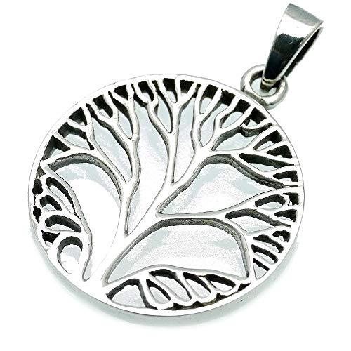 [シルバーワン] シルバー925 ツリーオブライフ 生命の樹 ペンダントトップ メンズ a4