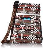 KAVU Keepalong Semi Padded Sling Canvas Rope Crossbody Bag - Canyon Blanket