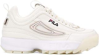 Luxury Fashion | Fila Women 101086079G Beige Leather Sneakers | Spring-summer 20
