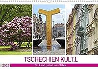 TSCHECHIEN KULT.L (Wandkalender 2022 DIN A3 quer): Kulturschaetze werden wiederentdeckt. (Monatskalender, 14 Seiten )