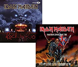 Rock In Rio - Maiden England '88 - Iron Maiden 2 CD Album Bundling