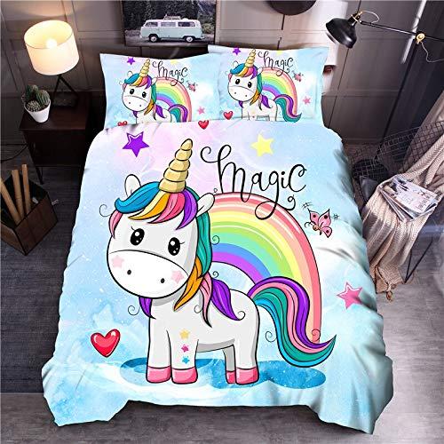 Cartoon Bedding Set Printed Duvet Cover Sets Universe Queen King Quilt Cover Bed Linen Hidden Zipper Is Soft And Comfortable 220×240CM A