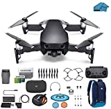 DJI Mavic Air Drone - Quadcopter with 32gb SD Card - 4K Professional Camera Gimbal - Bundle - Kit - with Must Have Accessories (Onyx Black)