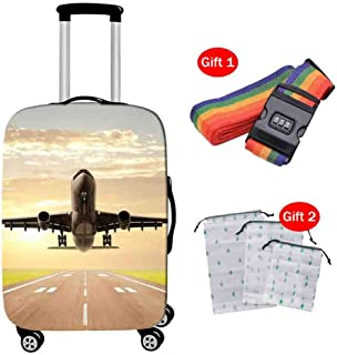 Suitcase Cover High Elastic Thick Wear-Resistant Luggage Dust Cover 18-28 Inch Breathable Trolley Case Protective Cover Ca...