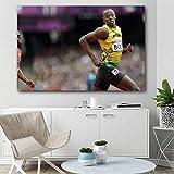 IGZAKER Sport Usain Bolt Poster Leinwand Wandkunst Drucke