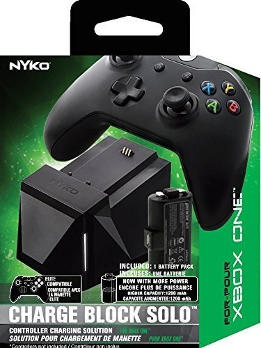 Nyko Charge Block Solo - Controller Charging Station with Rechargeable...
