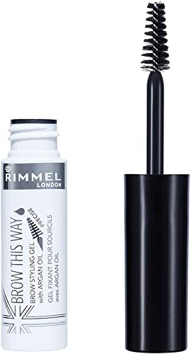 Rimmel London, Brow This Way Eyebrow Gel with Argan Oil, Clear, 12.82g