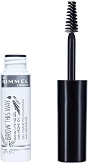 Rimmel London Brow This Way Eyebrow Gel with Argan Oil, 5ml