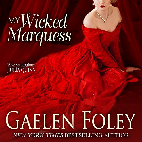 My Wicked Marquess audiobook cover art