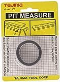 Tajima PIT20MW, Cinta de medición adhesiva, 2 m x 13 mm, blanco
