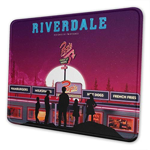 YouZiKu Riverdale-Wallpaper Large Mouse Pad Super Large Gaming Wrist Pad for Home Office Gaming 10x12 Inch