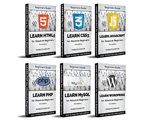 Web Development: Learn HTML, CSS, Javascript, PHP, MySQL and WordPress (English Edition)