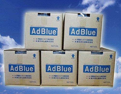 アドブルー(Ad Blue) 高品位尿素水 BIB20L 5箱セット 20L 伊藤忠エネクス