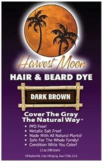 Natural Dark Brown Hair Dye 3-pack with Kit (300 Grams)