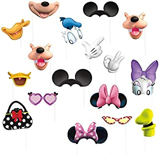 Mickey Mouse Clubhouse and Minnie Mouse Photo Booth Props, 16 pc