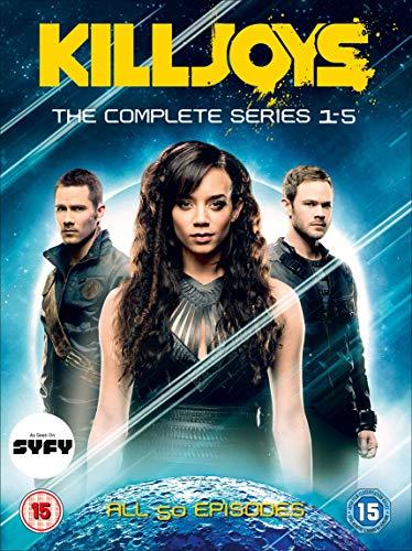 Killjoys Season 1-5 Set (10 Dvd) [Edizione: Regno Unito] [Italia]