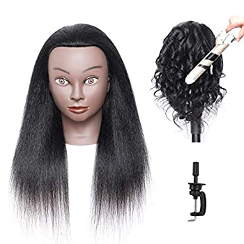 Best cheap black mannequin heads with human hair Reviews