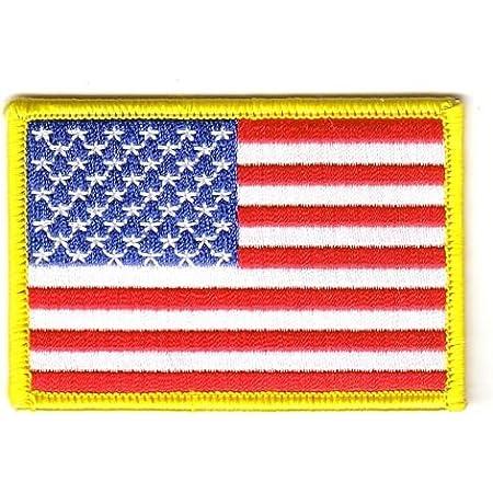 Flaggen Aufnäher Patch Usa Fahne Flagge Neu Sport Freizeit