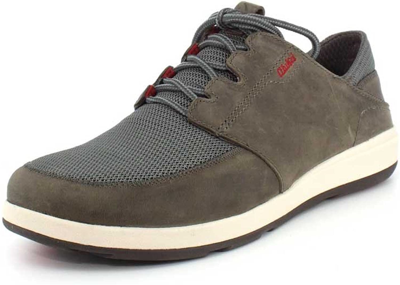 OLUKAI OLUKAI OLUKAI New Men's Makia Lace Sneaker Charcoal/Charcoal 13 B073C34Y8B ea7822