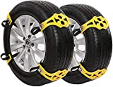 2. Sanku 2018 Upgraded Snow Tire Chains