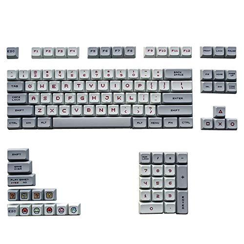 Anime Keycap PBT XDA DSA kompatibel 60 Keycap 68 Keycap 87 Keycap 104 Keycap Mechanische Tastatur