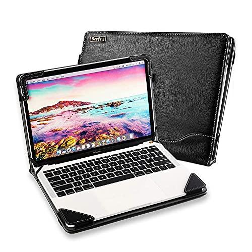 """Custodia per computer portatile compatibile con Lenovo Ideapad 330S-15IKB 330S-15ARR 15,6"""" Custodia protettiva in pelle PU"""