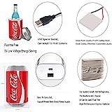 small-fridge Mini Can Cooler Coca-Cola Kühlschrank Auto Kühlschrank Auto Nach Hause Dual Use Kleine Kühlbox Heizung Schlafsaal Haushalt A - 5