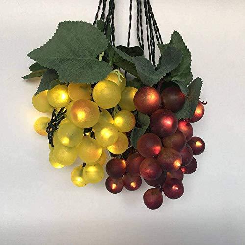 WRJ Solar Lichterkette, 80LED Traube Lichterkette Für Indoor Außen Festival Dekorative Wasserdicht Einfach Zu Benutzen Einfach Und Modern,2