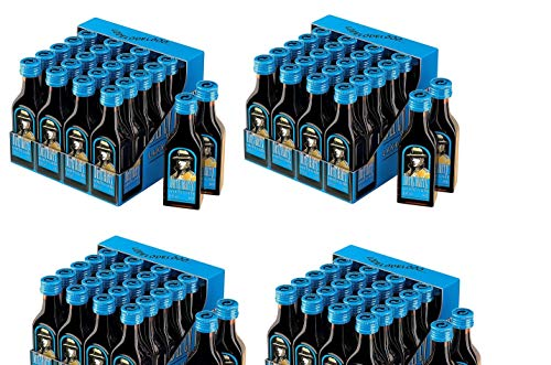 96 Flaschen Dirty Harry Lakritz Likör a 0,02L Mini Party Pack