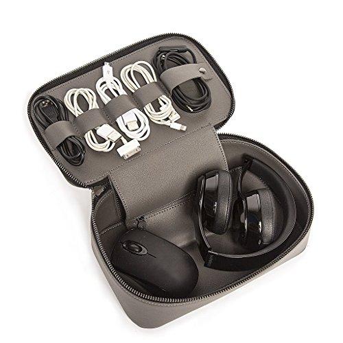 Brouk & Co - Tech Dopp Kit - Grey, Grey, Size One_Size