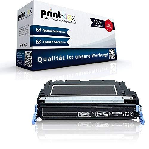 Print-Klex Kompatible Tonerkartusche für HP Color LaserJet 4700 Color LaserJet 4700DN Color LaserJet 4700DTN Q5950A Black Schwarz