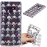 Carols Coque Galaxy Note 9, Samsung Galaxy Note 9 Étui TPU Silicone Souple Coque - Pack...