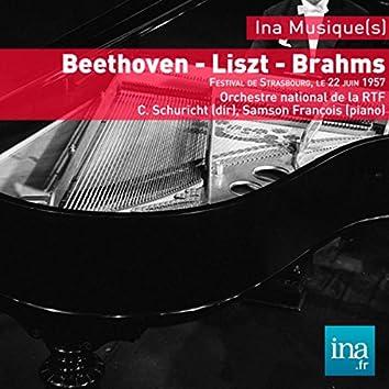 Beethoven - Liszt - Brahms