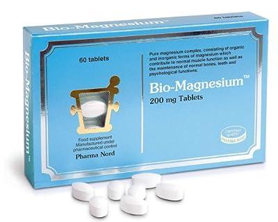 Pharma Nord 200mg Bio-Magnesium - Pack of 60 Tablets by Pharma Nord