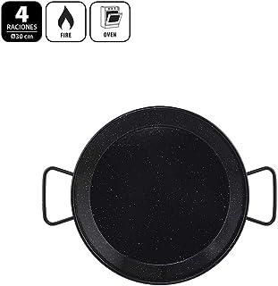 Metaltex - Paellera Acero Esmaltado 4 Raciones 30 cm