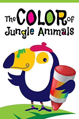 The Color of Jungle Animals: Kids Color Concept Book (English Edition)