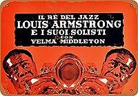 1955年ミラノイタリアのルイアームストロングコレクティブルウォールアート