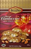 Gourmet Food Gifts! - Bellino Biscotti Cantuccini Crisp Almond Cookies, 8.8 Ounce Box