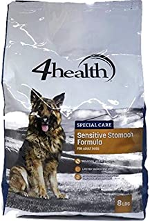 4health, Tractor Supply Company, Special Care Sensitive Stomach Formula Dry Dog Food, Adult Dogs, 8 Pound Bag, No Corn, No Wheat, No Soy, Limited Ingredient