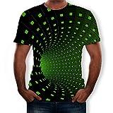 Luckycat 3D Digital Unisex Camisetas de Manga Corta Casual Camisas Deportivas Sport Graphics tee para Hombres 3D Impresión Pullover Sudaderas De Tendencia Hoodie Sweatshirt