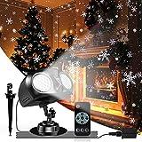 Lampada di Natale Proiettore LED, Proiettore Luci Natale LED, Caduta Della Neve Proiettore con...