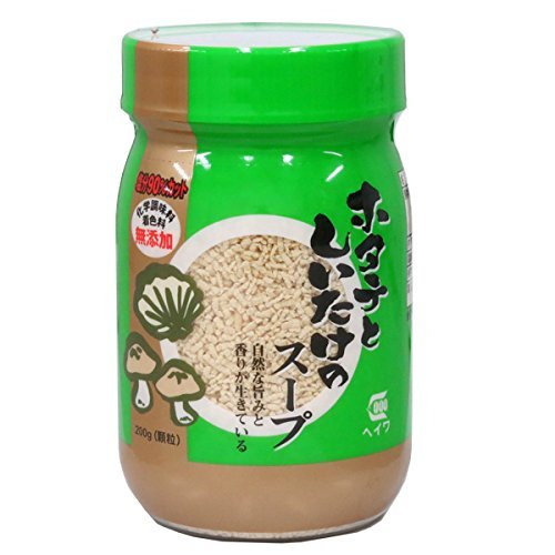 減塩 調味料 90% 減塩 ホタテ と しいたけ の スープ 200g ( 化学調味料 着色料 無添加 )