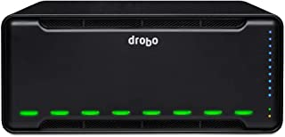 Drobo 8D 8-Drive Direct Attached Storage (DAS) Array - Dual Thunderbolt 3 Ports (DRDR7A21)