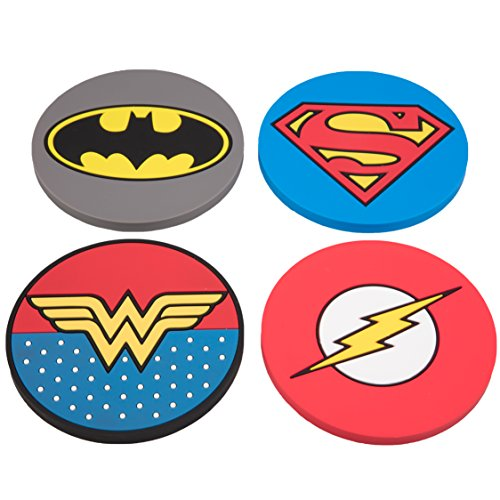DC heroes coasters gift ideas