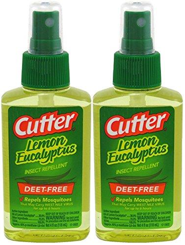 Cutter Lemon Eucalyptus Insect Repellent 4 Ounce Pump (118ml) (2 Pack)