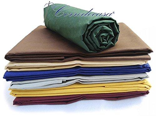 Corredocasa - Granfoulard - Telo Arredo Copritutto 100% Cotone Made in Italy - Matrimoniale - 2 Piazze