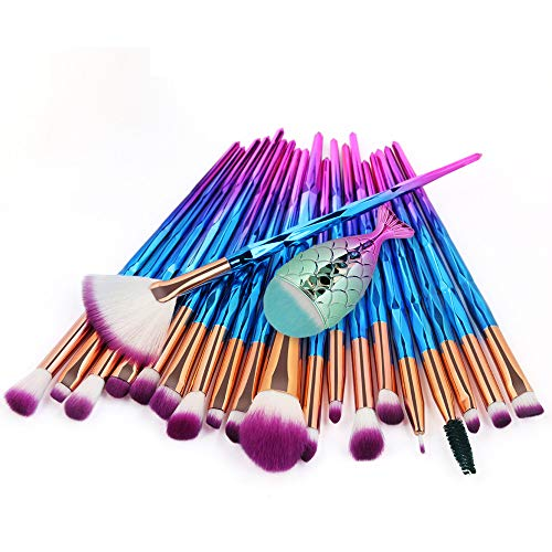 pitashe Make up Pinsel Set 21pcs Professionelles Bunt Makeup Pinsel Set Schminkpinsel Kosmetikpinsel...