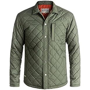 Quiksilver Waterman Puffed Up - Water-Repellent Quilted Shirt Jacket for Men - Men
