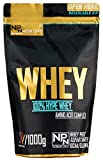 Np-Nutrition 100% Polvo de Proteína de Suero de Leche, Fresa Choco Blanco 1000 g